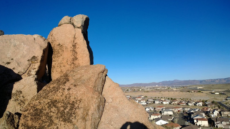 Rock Climbing Photo: The Nun