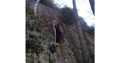 Rock Climbing Photo: guides wall project