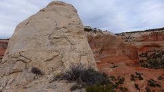 Rock Climbing Photo: mellow slabby part