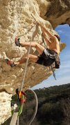 Rock Climbing Photo: P3 can be sent free. Real hard 11 perhaps? Bolts a...