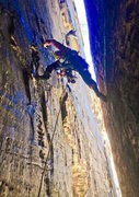Rock Climbing Photo: Don't slip. Deep Space March 2014.   Photo: Kyle W...