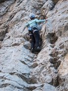 Rock Climbing Photo: Another lap on Wet My Whistle