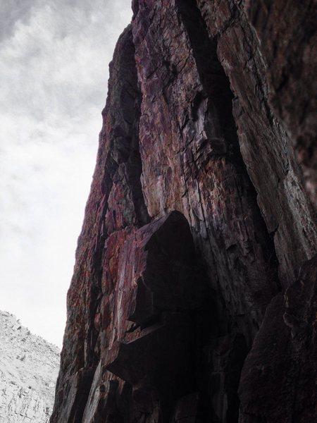 Sea of Lichen, 5.8, Crystal Wall.