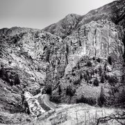 Rock Climbing Photo: The Crystal Wall, Poudre Canyon.
