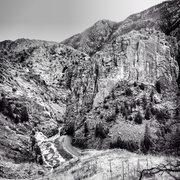 Rock Climbing Photo: The Crystal Wall, Poudre Canyon.