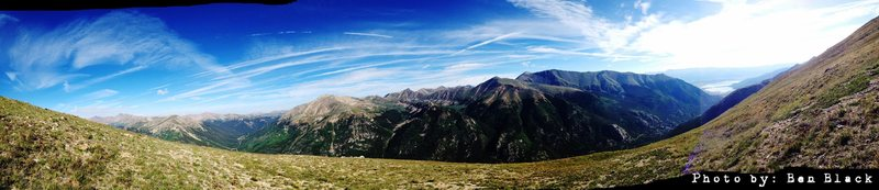 Rock Climbing Photo: A photo I snapped half way up Elingwoods Ridge, La...