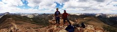 Rock Climbing Photo: Mt. Belford summit with Riley Reed.
