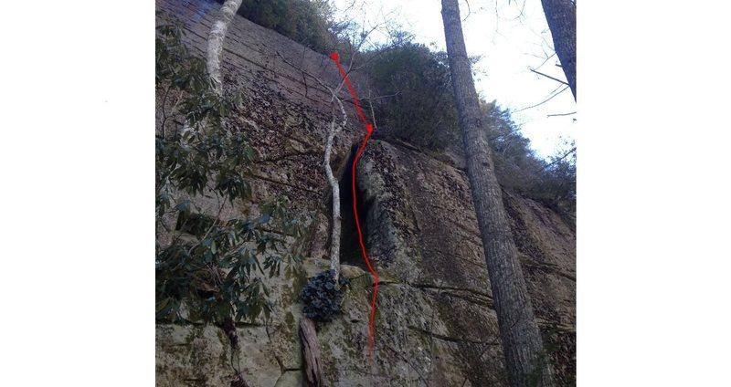 Rock Climbing Photo: Blue Collar Holler