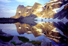 Rock Climbing Photo: Mulvey Lakes