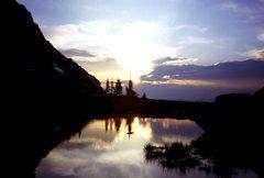 Rock Climbing Photo: Amazing Sunrise,  Laying in a warm sleeping bag, n...