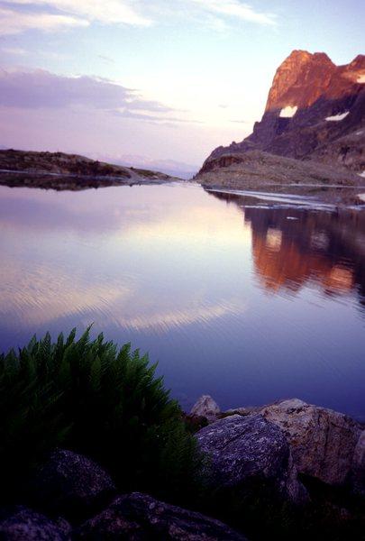 Rock Climbing Photo: DAG PEAK, Mulvey Lakes