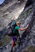 Rock Climbing Photo: Stephanie