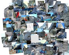 Rock Climbing Photo: Photo Collage of Jericho Wall SA