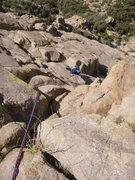 Rock Climbing Photo: P3 of Gertch's Folly