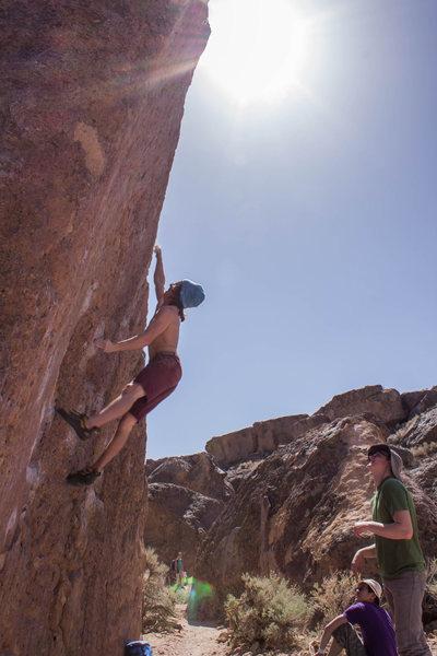 Rock Climbing Photo: Solarium