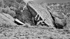 Rock Climbing Photo: Beast Feast start beta.