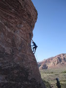 Rock Climbing Photo: Caustic C*** 5.11-