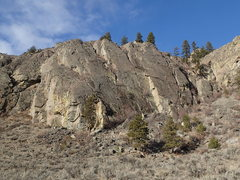Rock Climbing Photo: East face of the N Central Slab