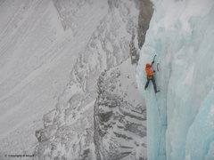 Rock Climbing Photo: Last Pitch, Murchinsons Fall