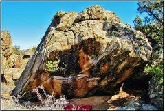Rock Climbing Photo: Hypersex problem beta.