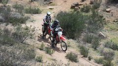 "Rock Climbing Photo: Motorcyclists enjoying some ""out of bounds&qu..."