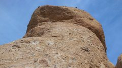 Rock Climbing Photo: Looking up at the south face of The Egg.