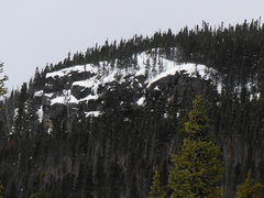 Rock Climbing Photo: View of the area taken midway between Grand Lake R...
