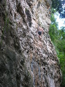 Rock Climbing Photo: Halfway there!