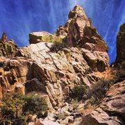 Rock Climbing Photo: Lesser Spire
