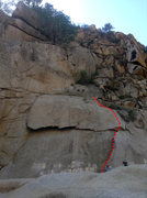 Rock Climbing Photo: To Lay Back Or Not route