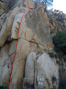 Rock Climbing Photo: Addicted To Crack route