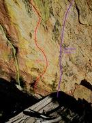 Rock Climbing Photo: Start of 1st pitch.
