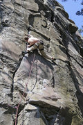 Rock Climbing Photo: MD Route