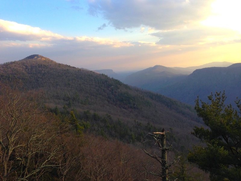 The Linville Gorge in March