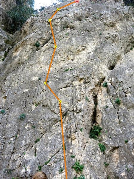 Rock Climbing Photo: #12