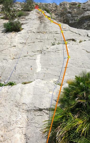 Rock Climbing Photo: Queso Aleman