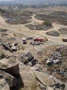 Rock Climbing Photo: riverside quarry accident