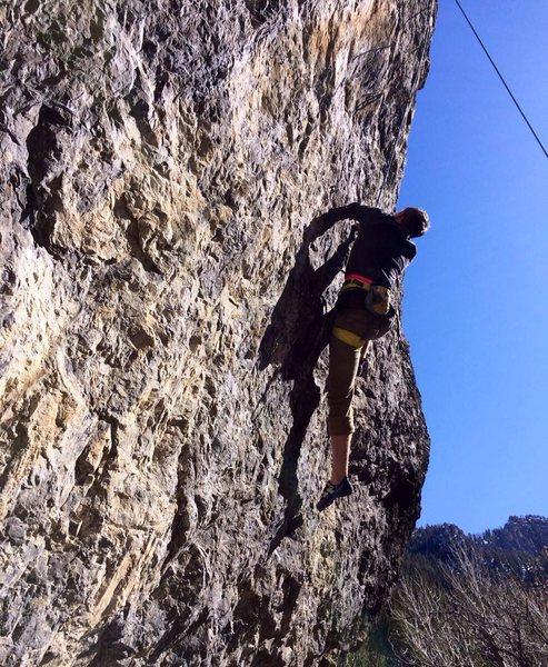 Rock Climbing Photo: Man and Woman 13a/b