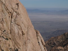 Rock Climbing Photo: Erik Harz and I on P9 of the South Face IV 5.10c R...