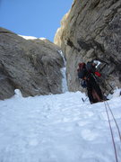 Rock Climbing Photo: Baruntse in action on Shaken not Stirred, Alaska