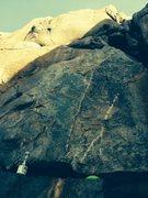 Rock Climbing Photo: Looking up at The Blocks Direct.