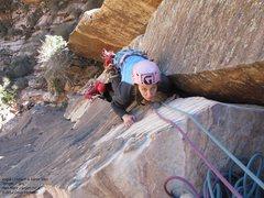 Rock Climbing Photo: Angie & Aaron, p1