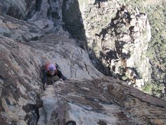 Rock Climbing Photo: Angie, p4