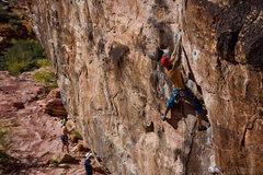 Rock Climbing Photo: climbing red rocks