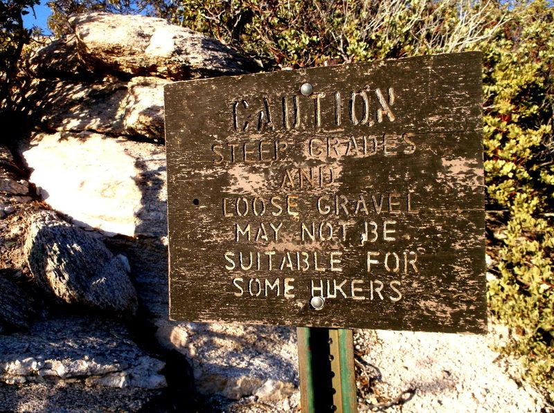 Rock Climbing Photo: Mount Lemmon is a dangerous place!