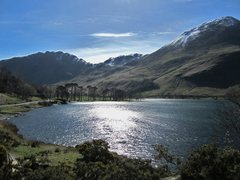 Rock Climbing Photo: Buttermere Lake .. March 24 2014