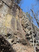 Rock Climbing Photo: Franny and Zooey (red). Three Stooges variation (y...