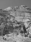Rock Climbing Photo: Erik, Megs, Solar Slab