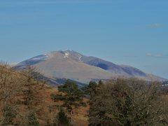 Rock Climbing Photo: Blencathra Mt . March 24 2014
