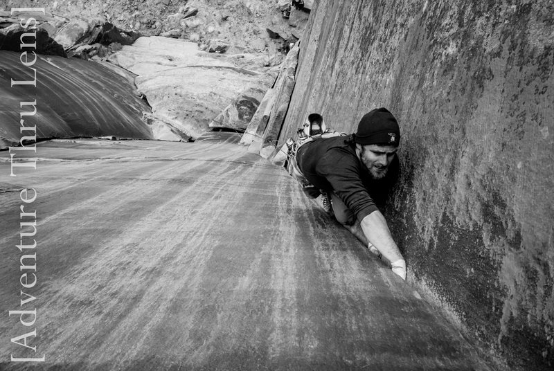 Rock Climbing Photo: Nick on Christine's Way Buff Sabb